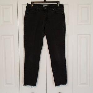 Loft Black Curvy Skinny Jeans